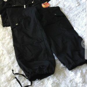 Apple Bottoms Pants - Apple bottom one piece pant romper